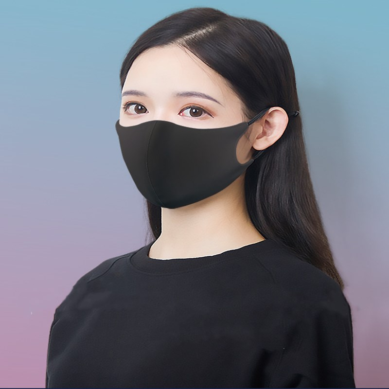 High Quality Black Unisex Unisex Masks Cotton Cartoon Masks Dustproof And Dustproof Masks Cute Unisex Masks