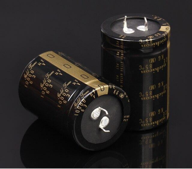 2 pièces NICHICON KG Type I 63V10000UF 35x50mm or air 10000UF 63V amplificateur audio filtrant 10000 UF/63 V type 1 10000u