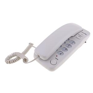 Image 1 - Портативный подвесной проводной телефон домашний настенный телефон офисный бизнес
