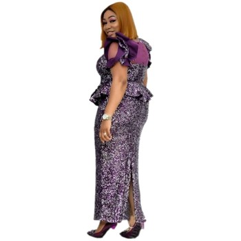African Dresses For Women 2020 Africa Clothing Muslim Long Dress High Quality Length Fashion African Dress For Lady Clothing