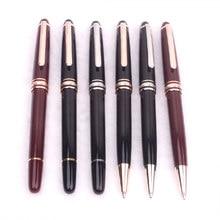 Black Resin Ballpoint Pen Luxury Roller Ball Pen Gel Kawaii Fountain Pen for Writing Business Gift
