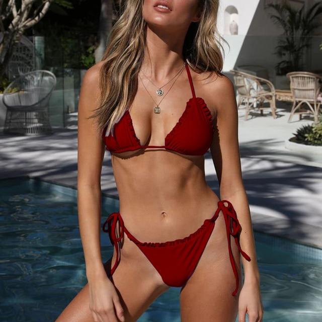 Ruffled Bikini Set 2