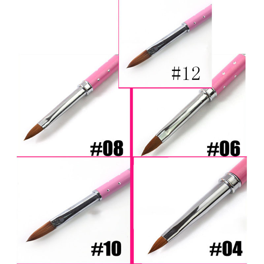 Nail Art Liner Painting Pen Drawing Tips Diy Acrylic Gel Brushes Drawing Flower Line Grid French Design Manicure Tools