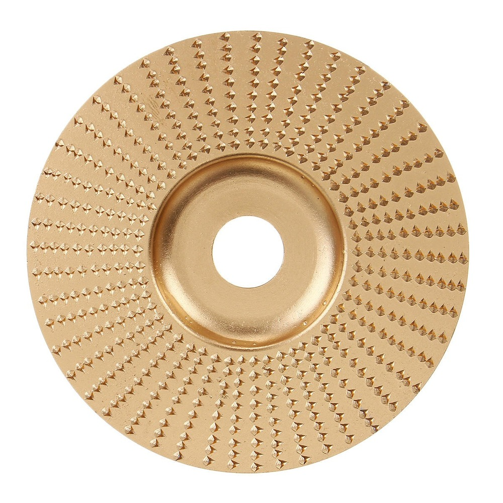 98x16mm Carbide Wood Carving Disc Angle Grinder Shaping Disc Wood Grinding Wheel Rotary Disc Sanding Abrasive Disc Tools