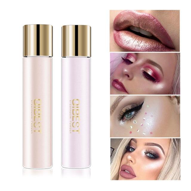 Brighten Face Glow Highlighter Shimmer Loose Eye Shadow Powder Makeup Pigment Waterproof Glitter Eyeshadow Eyes Powder Cosmetic 1