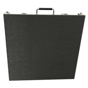 Image 2 - P6mm SMD Full Color Outdoor 576x576mm Die Casting Aluminum Cabinet Rental LED Display Video Wall, led advertising screen