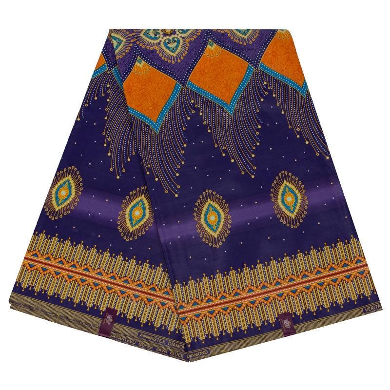 2019 New Arrivals 100% Cotton African Dashiki Traditional Print Wax Fabric Veritable Ankara Dutch Wax