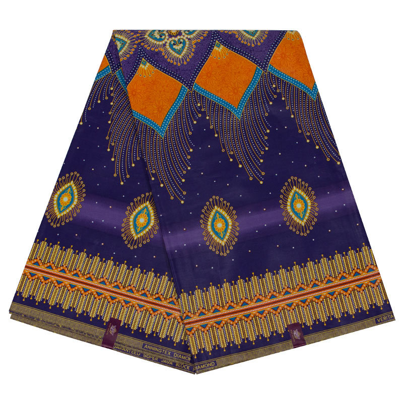 2019 New Arrivals 100% Cotton African Dashiki Traditional Print Wax Fabric Veritable Ankara Wax