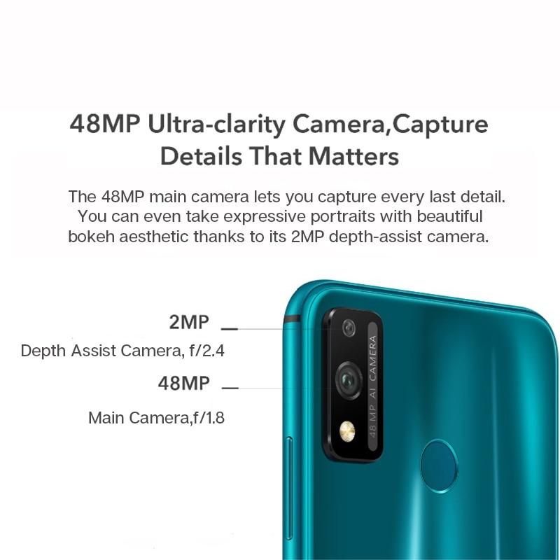 Global Version Honor 9X Lite Smartphone 4G 128G 48MP Camera Kirin 710 6.5'' Mobile Phone Android P GPU Turbo 3.0 NFC 4