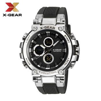 цена на Quartz Watches Men Luxury Brand X-GEAR Watch Men Mechanical Mens Auto Army Watches 3897 Waterproof Calendar Quartz Wristwatch