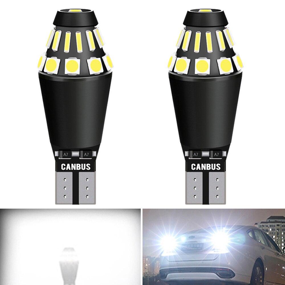 2x W16W T15 LED Canbus sans erreur ampoules led voiture de secours feux arrière pour Mustang Fusion F-150 évasion expédition Explorer Ford