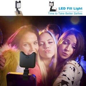 Image 4 - Apexel מיני נייד חצובה חדרגל עם מרחוק Bluetooth ontrol Selfie למלא Led אור עבור iPhone X 7 8 סמסונג נייד טלפון