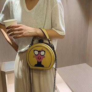 Image 2 - Nuevos bolsos de mujer moda versión coreana bolso de hombro cadena bolsa de mensajero Bolsa De mujer dulce. Bolsas de diseñador de lujo