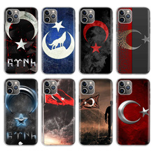 Flag Turkey Istanbul Antalya mustafa Wolf Phone Case For Apple iPhone 11 Pro 6 6S 7 8 Plus 10 X XS MAX XR 5 5S SE Phone Cover turkey flag hard case for apple iphone 11 pro max x xr xs max 7 8 plus 6 6s plus 5s se phone cover coque