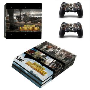 Image 4 - Game PUBG PS4 Pro Sticker Play station 4 Skin Sticker Decals For PlayStation 4 PS4 Pro Console & Controller Skins Vinyl