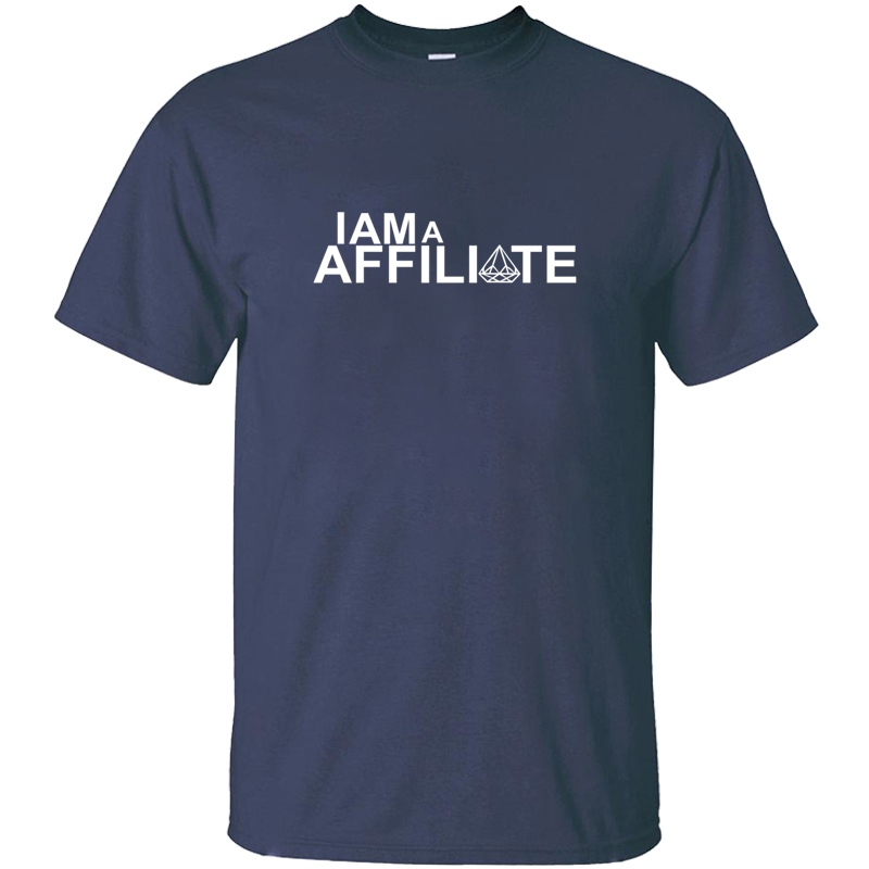 Printing I Am An Affiliate I Am A Affiliate T Shirt Man Awesome Mens Tshirt Clothing Natural Hiphop Tops