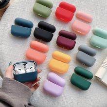 Original Fall Für Apple Airpods Pro Wireless Bluetooth Kopfhörer Fall Candy Farbe Box Für AirPods Pro Air Schoten 3 Hard nette Abdeckung(China)