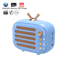 Mini Wireless Bluetooth Portable Speaker FM Radio MP3 Music Speakers PC Play-Time 8 Hours 32GB TF BT Phone Home Outdoor Speaker цена и фото