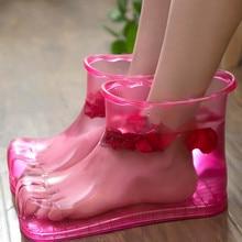 EUR42 ботинки тапочки обувь массажер для ног ванна массажные ботинки расслабляющие Тапочки Обувь Уход за ногами Замачивание горячее средство по уходу за ногами