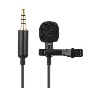 Image 1 - Andoer 1.45 M Mini Draagbare Microfoon Condensator Clip On Revers Lavalier Microfoon Wired Mikrofo/Microfon Voor Telefoon Voor laptop