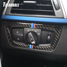 Car Headlight Switch Button Decorative Frame Cover Trim For BMW 3 4 Series F30 F34 2013-2018 Car Styling Modified Accessories car headlight switch button decorative frame cover trim for bmw 3 4 series gt f30 f34 2013 2018 car styling modified stickers