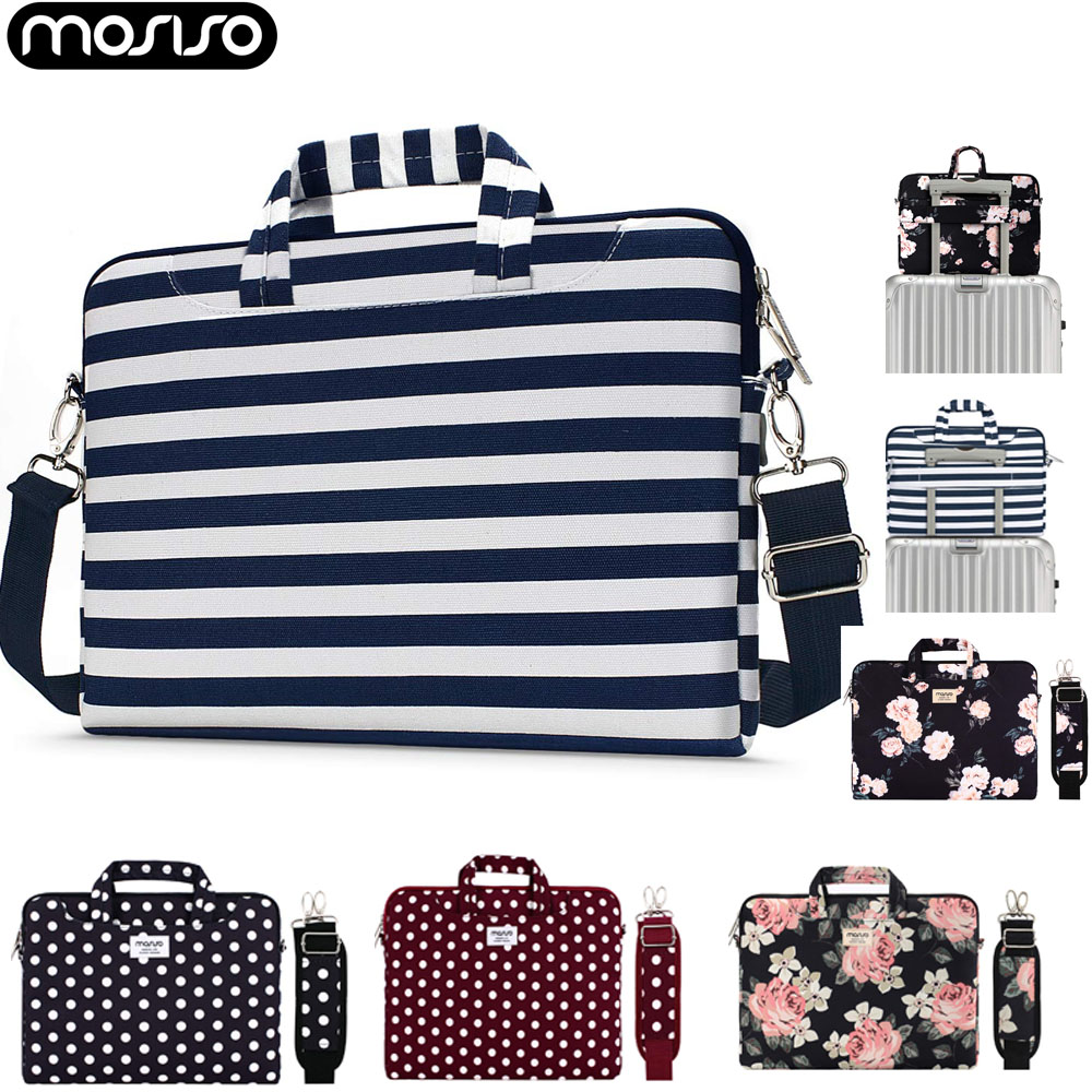 MOSISO Notebook <font><b>Sleeve</b></font> Shoulder Bag Handle Briefcase for Macbook Air Pro 13 14 <font><b>15</b></font> 16 <font><b>inch</b></font> <font><b>Laptop</b></font> Shoulder Bags 13.3 <font><b>15</b></font>.6 <font><b>inch</b></font> image