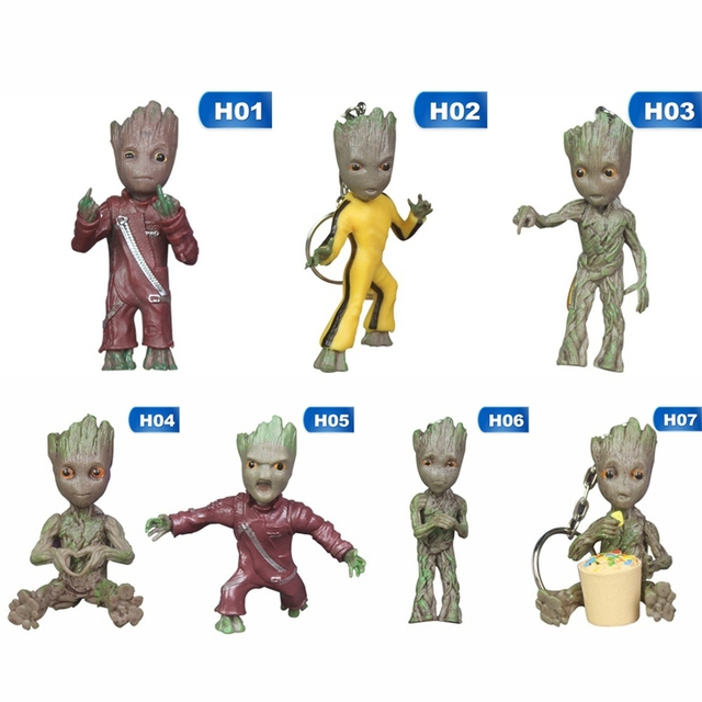 Baby Groot Keychains Guardians of The Galaxy 5