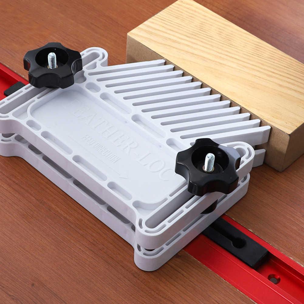ใส่แผ่นไม้ Flip แกะสลักไฟฟ้า Circular SAW Carpenter เสริม Gadgets พลาสติก ABS Router