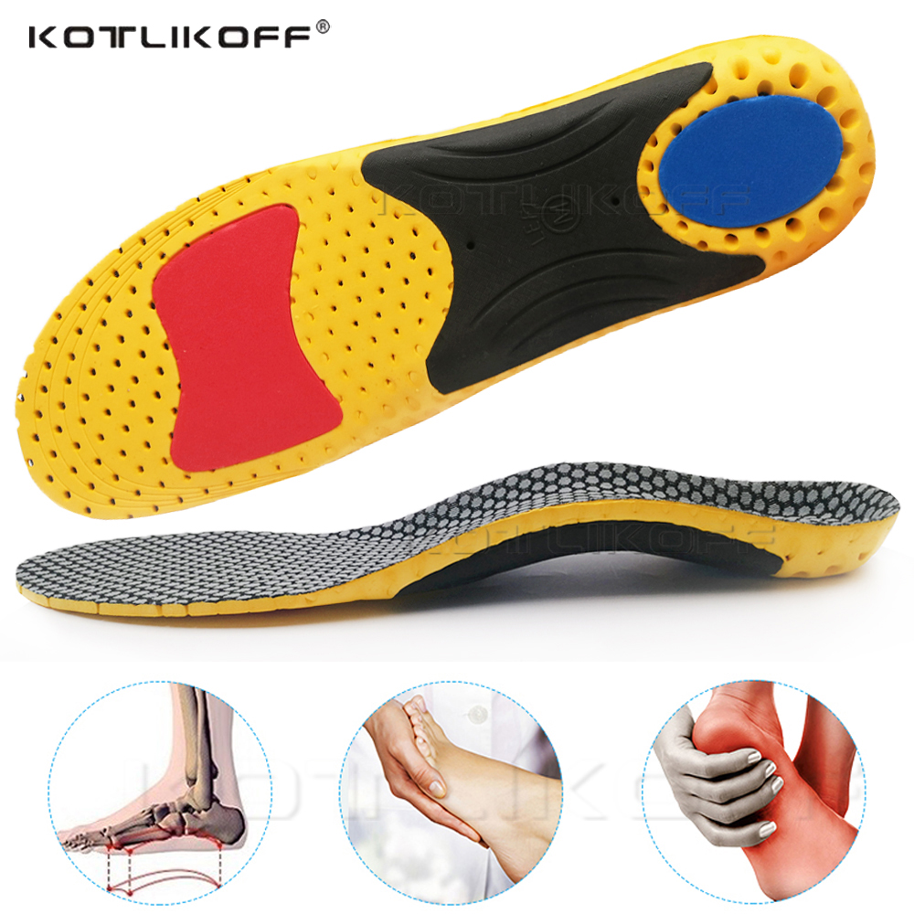 EVA Sport Orthotic Insoles Arch Support Orthopedic Insoles For Shoes Correction O/X Leg Shoe Pad Foot Pain Relief Sole For Shoes