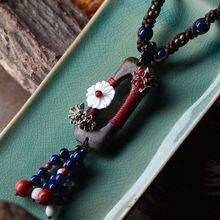 Тяжелое Ожерелье Подвеска для женщин длинное ожерелье из геробола