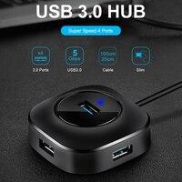 USB HUB USB 3.0 HUB Splitter Multiple USB Hab 2.0 Multi Hub Expander 4 Port HUB for PC Laptop USB Hubs Computer & Office -