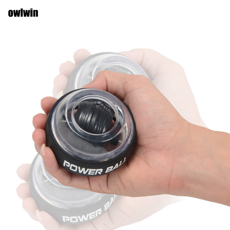 2019 Wrist Ball Super Gyro Powerball Wrist Ball Finger Grip Self-starting Arm Force Trainer Relieve Pressure Colorlight