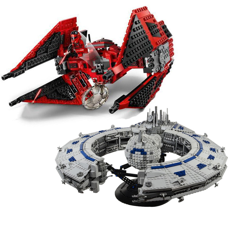 05041 75240 Lepining Star Wars 75255 Tie Fighter MicroFighters The Rise Of Skywalker  Building Blocks Toys For Children 79211