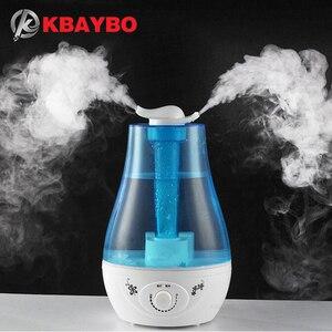Image 1 - 3l umidificador de ar ultra sônico aroma óleo essencial difusores óleos aromaterapia para escritório família purificador de ar névoa criador fogger