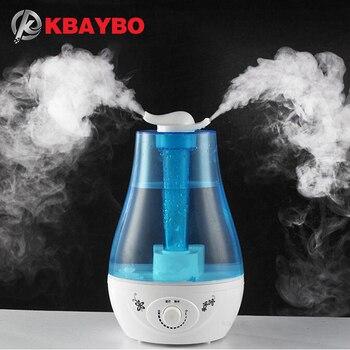 Humidificador de aire 3L difusor de Aceite esencial de aroma ultrasónico aceites aromaterapia a familia Oficina vaporizador purificador de aire nebulizador
