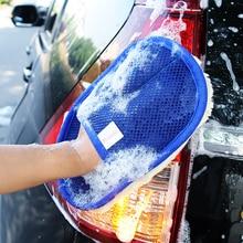 Автомобильные аксессуары щеточка для чистки перчатки для мытья Стикеры для Peugeot 307 308 407 206 207 3008 406 208 2008 508 408 306 301 106 107