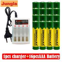 Batterie alcaline 2800 MAH, 1.5 V, rechargeable, AAA, pour télécommande, jouet, lampe, chargeur