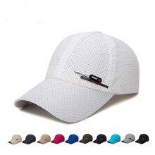 Adult Unisex Mesh Baseball Caps Adjustable Fishing Cap Breat