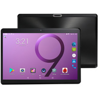 2.5D Tempered Glass 10 inch PC Tablet Android 8.1 3G Phone Call Octa Core 4GB/32GB Dual SIM Cards Wi Fi IPS + Keyboard