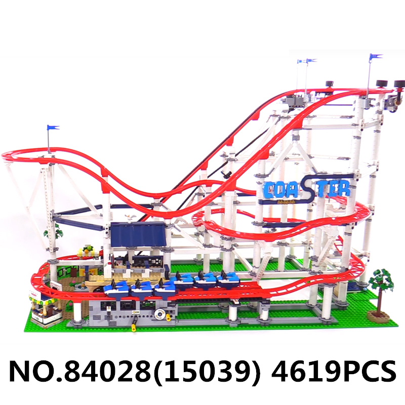 Image 2 - Lepining lepinblock City  Creator Expert 18003 15039 10261 Roller Coaster Technic Train Building Blocks Bricks King Friend ToysBlocks   -