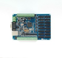 LED Display Control Card Word Library Card Real time Display Secondary Development 8 in 7 Out Network RS232/485