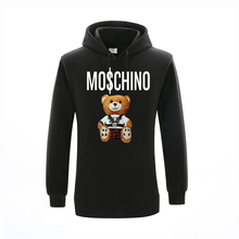Brand Hoodie Men's Sweatshirt Print Patchwork High Quality 2021 Fall Winter Sweatshirt Men's Hooded Streetwear