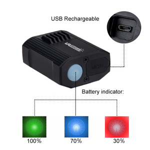 Image 3 - Waterproof USB Rechargeable Bike Light 5 Light Modes MTB Cycling Light Built In Battery Bicycle Lamp for Safety Night Cycling