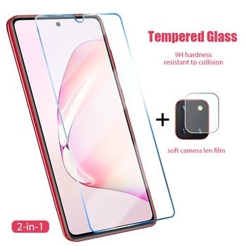 2 в 1 Защитная пленка для экрана для Samsung Galaxy A71 A51 A42 5G задняя камера с обмоткой эластичной пленкой для Samsung A41 A31 A21 A12 A11 переднее стекло|Защитные стёкла и плёнки|   | АлиЭкспресс