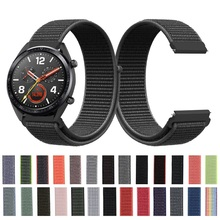 22mm 20mm Nylon Strap For Samsung Galaxy Watch 46mm 42mm Act