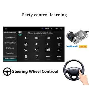 Image 4 - Podofo Radio Multimedia con GPS para coche, Radio con reproductor, Android, 1 Din, pantalla táctil de 7 pulgadas, navegación GPS, Wifi, Audio estéreo, Universal