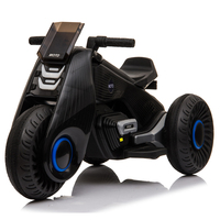 Children's Electric Motorcycle 3 Wheels Double Drive 2- 7 Year-old Child Charged Toys With music playback function Kids Car 1