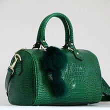 Luksusowe Boston torba z prawdziwej skóry kobiet torba \ torebka wzór lamparta marki pani poduszki dużego ciężaru skóry wołowej duża torba na ramię Crossbody