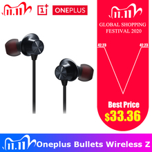 Original OnePlus Bullets Wireless Z Earphones Hybrid Magnetic Control Google Assistant Fast ship Bluetooth Earphone