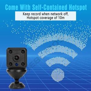 Image 3 - Hebeiros 1080P Portable Mini Macchina Fotografica del IP di Base Magnetica 2MP Batteria Wifi Della Macchina Fotografica di Visione Notturna di Registrazione Audio di Sicurezza Telecamera A CIRCUITO CHIUSO